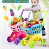 兒童購物車玩具扮家家酒仿真手推車蔬菜套裝【南風小舖】