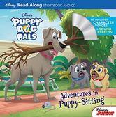 【麥克書店】PUPPY DOG PALS ADVENTURES IN PUPPY SITTING /英文繪本附CD‧聽迪士尼說故事