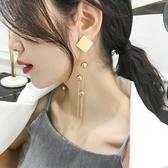 長款流蘇夸張大耳環個性耳飾耳墜銀針