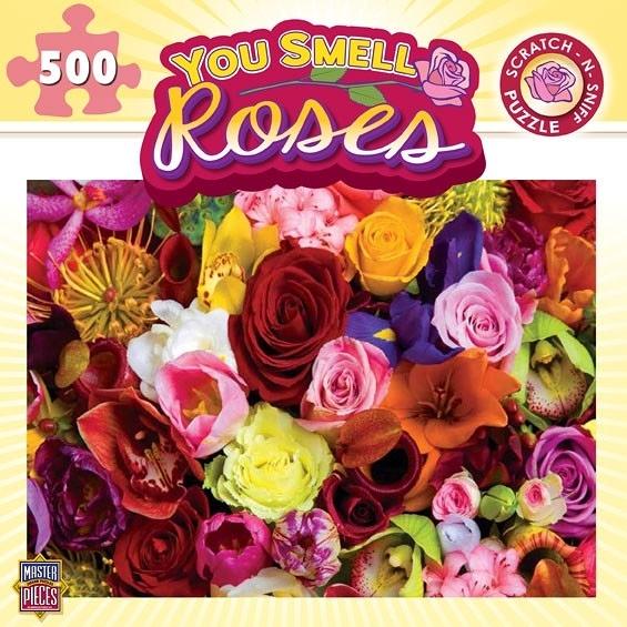[KANGA GAMES]拼圖 玫瑰 You Smell - Roses 500片