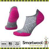 【SmartWool 美國 女 Phd輕量菁英減震跑步踝襪《中性灰》】SW0SW210/短襪/羊毛襪/防臭/運動襪/保暖襪