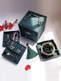 首飾盒 復古首飾盒歐式精致小號飾品盒公主簡約收納盒手飾盒珠寶盒化妝盒【免運】