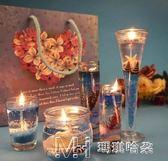 果凍蠟燭 禮品歐式創意香薰 浪漫情人節求婚生日表白禮物        瑪奇哈朵