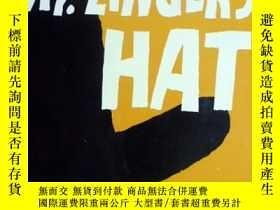 二手書博民逛書店英文原版罕見少兒繪本 Mr.Zinger s Hat 辛格爾的帽