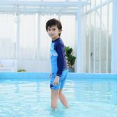 兒童分體游泳衣男童可愛小中大童小孩卡通寶寶游泳衣沙灘學生泳裝 js1181『科炫3C』