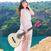吉他 - 卡斯摩38寸吉他民謠木吉他初學者入門樂器 生日禮物【端午快速出貨限時8折