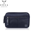 【橘子包包館】VOVA 天際系列手拿包 VA117S13BL 天際藍