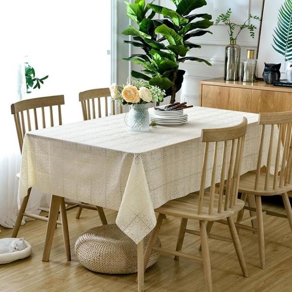 桌布 歐式餐防水防油防燙免洗哦茶幾墊桌布藝pvc塑料臺布