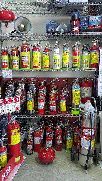 汽車用滅火器 防狼噴霧器 環保氣體兼催淚消火瓶 1型fc232潔淨氣體消火瓶-永久免換藥
