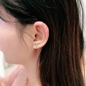 【新飾界】耳環:純銀小眾耳夾法式 無耳洞女