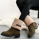 換換包!Changebag!巴黎時尚冬季長靴/雪靴