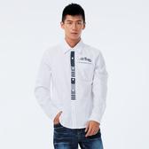 BigTrain 牛津素色襯衫-男-漂白-B10077