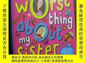 二手書博民逛書店The罕見Worst Thing About My SisterY10980 Jacqueline Wilso