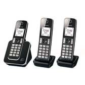 Panasonic 國際牌 DECT數位無線電話一母雙子機 KX-TGD313TW 公司貨 送餐具組