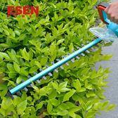 充電式直流園林電動綠籬機園藝工具修枝機茶葉修剪機籬笆剪igo【蘇迪蔓】28V