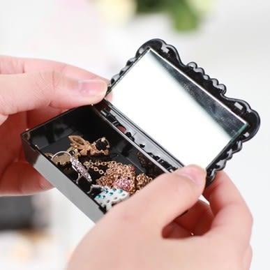 ♚MY COLOR♚蝴蝶蝶花系列-飾品假睫毛收納盒 壓克力 桌面 整理盒 首飾 乾淨 防塵【P424】