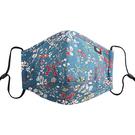 可重複使用-N95呼吸器棉口罩5層活性炭過濾層(附6個過濾)