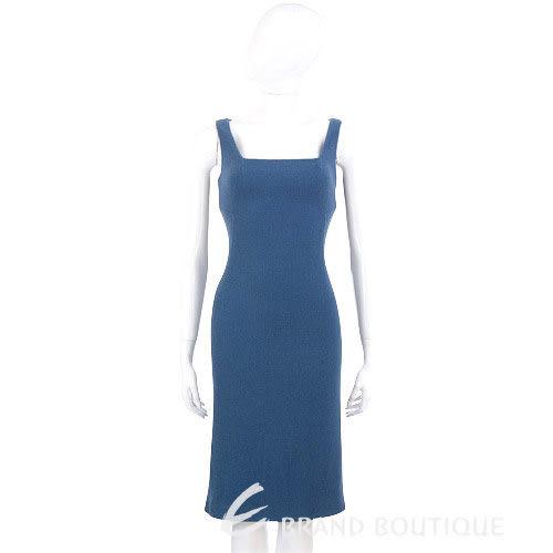 GBR 藍色無袖毛呢洋裝 0510823-23