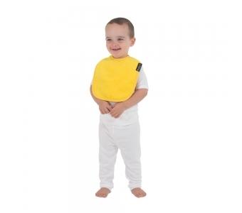 紐西蘭 Mum 2 Mum 機能型神奇口水巾圍兜-寶寶款-黃 吃飯衣 口水衣 防水衣