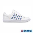【超取】K-SWISS Court Winston Tape時尚運動鞋-男-白/藍/灰