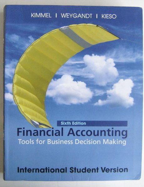 (二手原文書)Financial Accounting: Tools for Business Decision Making