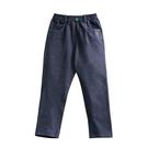 『小鱷魚童裝』仿牛仔刷毛長褲(02號~10號)556634