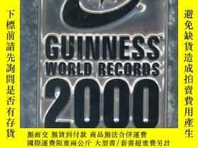 二手書博民逛書店Guinness罕見2000 Book of Records: Millennium Edition(吉尼斯記錄