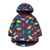 mothercare 藍色恐龍防風雨夾克-外出系列(M0TB802)12個月~24個月、5A