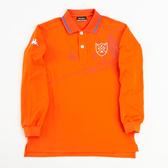 KAPPA義大利型男BESTDRY吸濕排汗POLO衫 香橙/經典藍
