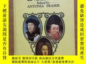 二手書博民逛書店the罕見lives of the kings and queens of englandY365734