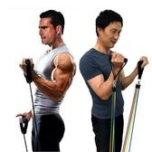 多功能家用男女訓練拉力繩彈力繩拉力器胸肌臂力鍛煉肌肉健身器材 js853『科炫3C』