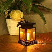 led太陽能燈 蠟燭燈 吊燈 戶外燈 小夜燈 家用裝飾燈
