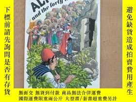 二手書博民逛書店ALI罕見BABA and the forty thieves(