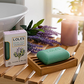 LOLES溫和淨化乳油木機能皂150g