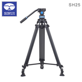 EGE 一番購】Sirui 思銳【SH-25】鋁合金錄影油壓三腳架套裝 75mm碗公【公司貨】
