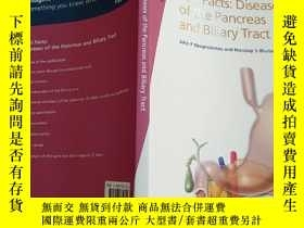 二手書博民逛書店Fast罕見Facts:Diseases of the Pancreas and Biliary TractY