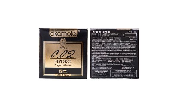 Okamoto岡本衛生套-002水感3入