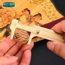 游標卡尺文玩家用小型毫米尺子手鐲珠寶高精度油標卡尺 【全館免運】