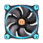 Thermaltake曜越 Riing 12公分 LED高風壓水冷排風扇 (藍)