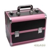 紋繡工具箱手提專業多層美睫美容師專用高檔大容量美甲紋眉化妝箱「時尚彩紅屋」