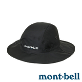 【mont-bell】Storm 男GORE-TEX防水圓盤帽『黑』1128656 登山.露營.防曬帽.遮陽帽.防風帽.快乾.排汗
