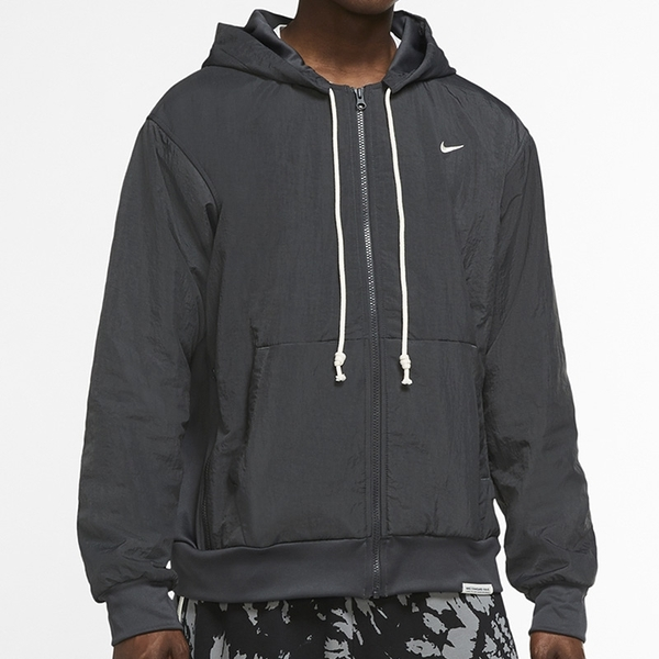 Nike Standard Issue 男款 黑色 抽繩 刺繡 小勾 連帽 防風外套 CK6806-070