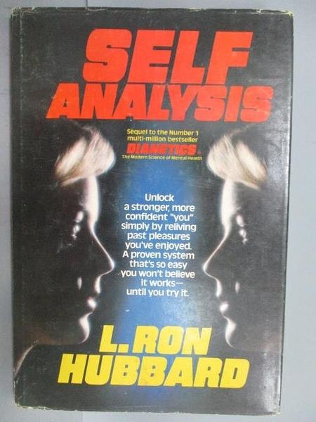 【書寶二手書T3/宗教_PCQ】Self Analysis_L.Ron Hubbard