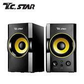 【T.C.STAR】TCS2423木質USB電腦多媒體喇叭