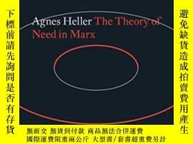 二手書博民逛書店The罕見Theory Of Need In MarxY364153 Agnes Heller Verso B
