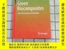二手書博民逛書店Green罕見Biocomposites 進口原版 Y268220 Rashid, Umer Springer