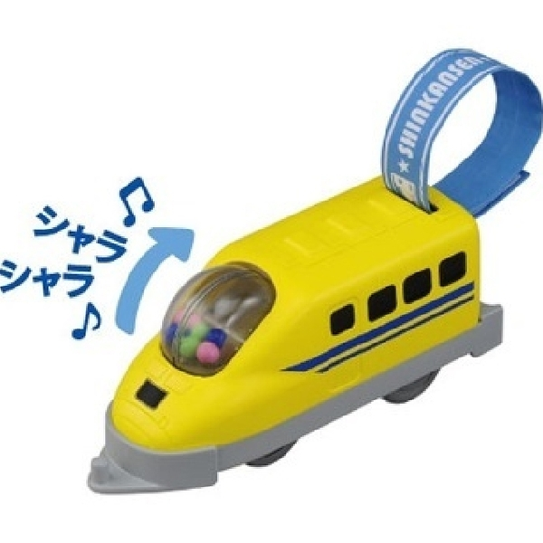 TOMICA 鐵道王國 寶寶多美火車-黃博士號_TP97714(無電動可勾於動力車頭) TAKARA TOMY 原廠公司貨
