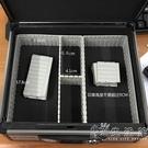 多功能印章箱印鑒盒公章收納箱鋁合金放章盒子銀行財務箱大號帶鎖 小時光生活館