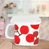 搪瓷廚房方形收納果蔬收納密封罐泡面杯
