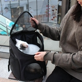 寵物背包 貓包外出便攜寵物背包貓咪外出包貓書包透氣胸前包貓袋貓背包狗包 交換禮物